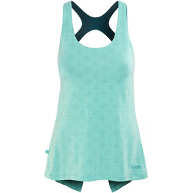 Rab Trance Mouwloos Shirt Dames turquoise